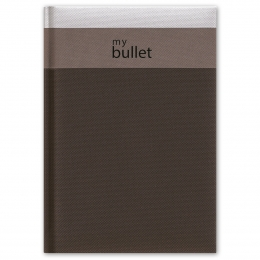 Fekete ponthálós füzet A5 | Trinity Bullet