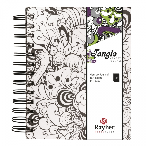 Orchid Tangle memory journal