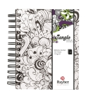 15,5x18 cm Orchid Tangle memory journal