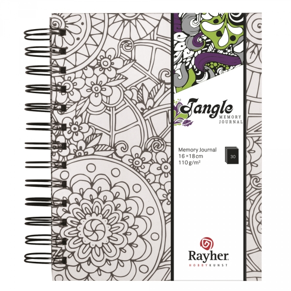 Flora Tangle memory journal