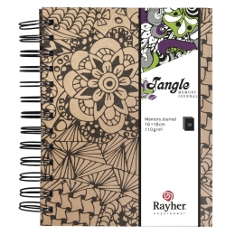 15,5x18 cm Cameo Tangle memory journal