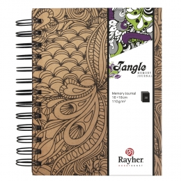 15,5x18 cm Jungle Tangle memory journal