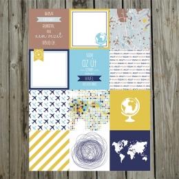Miénk a világ! 10x10 cm kártya