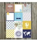 Miénk a világ | 10x10 cm kártya