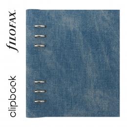 Denim A5 Filofax Clipbook