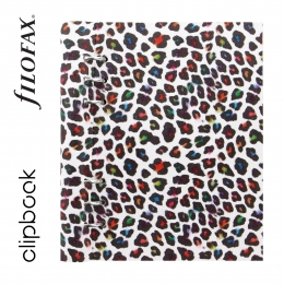 Leopard A5 Filofax Clipbook