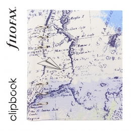 Retro Map A5 Filofax Clipbook