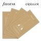 Üres Personal Filofax Clipbook Jegyzetlap