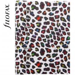 Leopard Personal Filofax Clipbook
