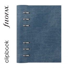 Denim Personal Filofax Clipbook