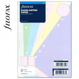 Pasztell vegyes A5 ponthálós Filofax jegyzetlap