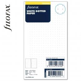 Fehér Personal ponthálós Filofax jegyzetlap