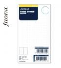 Personal ponthálós jegyzetlap fehér színű | Filofax