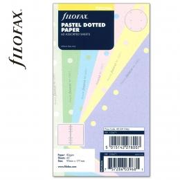 Pasztell vegyes Personal ponthálós Filofax jegyzetlap