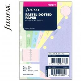 Pasztell vegyes Pocket ponthálós Filofax jegyzetlap