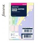 Pocket ponthálós jegyzetlap pasztell színű | Filofax
