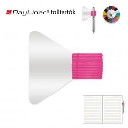 Pink öntapadós tolltartó határidőnaplóhoz