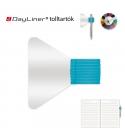 Türkiz öntapadós tolltartó határidőnaplóhoz