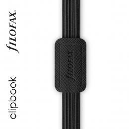 Fekete A5 rugalmas zárószalag Filofax Clipbook