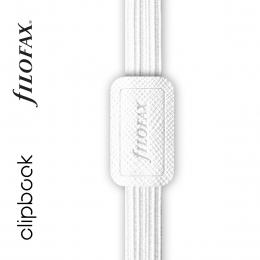 Fehér A5 rugalmas zárószalag Filofax Clipbook