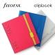 Sárga A5 rugalmas zárószalag Filofax Clipbook