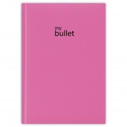Fukszia ponthálós füzet A5 | Pannon Bullet