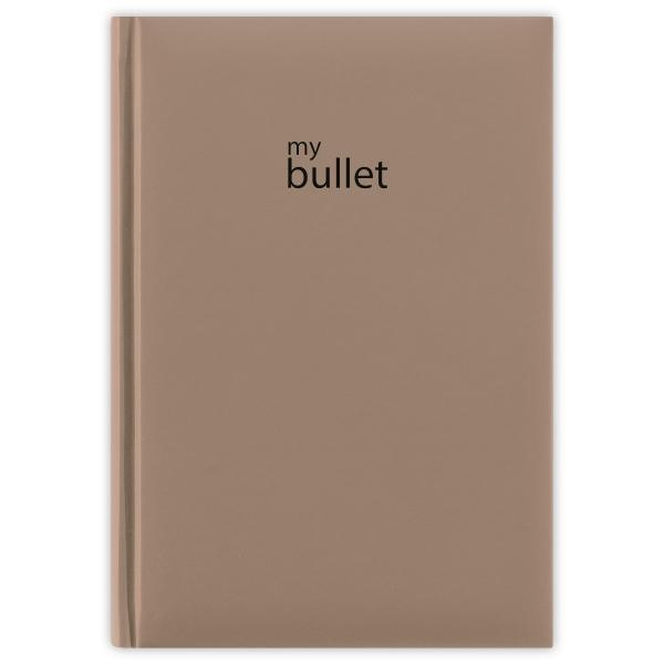 Natúr A5 Pannon Bullet ponthálós notesz