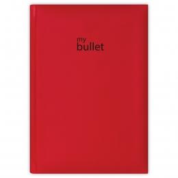 Piros ponthálós füzet A5 | Pannon Bullet