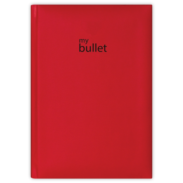 Piros A5 Pannon ponthálós notesz