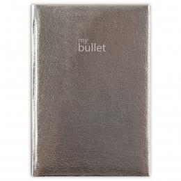 Ezüst A5 Mirror Bullet ponthálós notesz