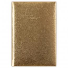 Arany ponthálós füzet A5 | Mirror Bullet