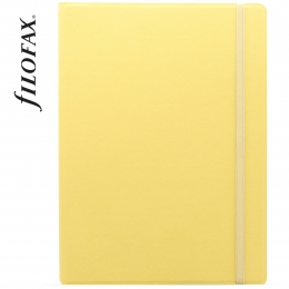 Sárga A4 Filofax Notebook Classic Pastel