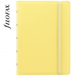 Sárga Pocket Filofax Notebook Classic Pastel