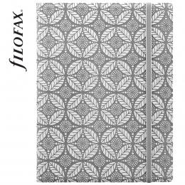 Szürke-fehér Filofax Notebook Impressions A5