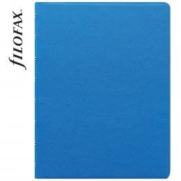 Kék A5 Filofax Notebook Saffiano Fluoro