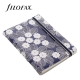 Sötétkék-fehér Pocket Filofax Notebook Impressions