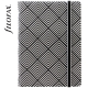 Fekete-fehér Pocket Filofax Notebook Impressions
