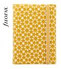 Sárga-fehér Pocket Filofax Notebook Impressions