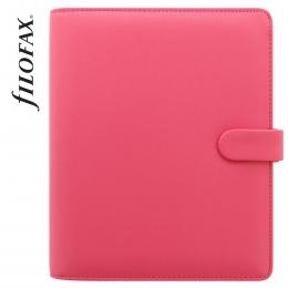 Rózsaszín A5 Filofax Saffiano határidőnapló