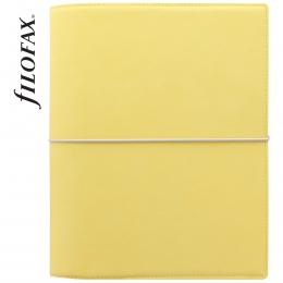Sárga A5 Filofax Domino Soft határidőnapló