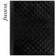 Fekete A5 Filofax Domino Luxe határidőnapló
