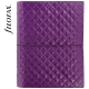 Lila A5 Filofax Domino Luxe határidőnapló