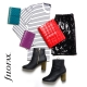 Piros A5 Filofax Domino Luxe határidőnapló
