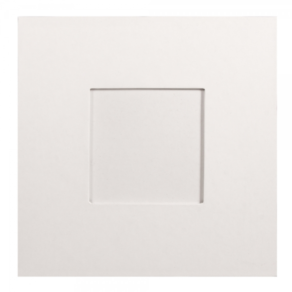 18x18 cm díszíthető papírmasé fotókeret
