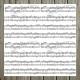 A zene a mindenem | 20x20 cm scrapbookpapír készlet
