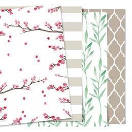 Tavaszi mini papírkészlet