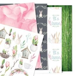 Idén is lesz tavasz! | A5 scrapbookpapír készlet