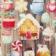 Karácsonyi finomságok   papír díszítőelem készlet