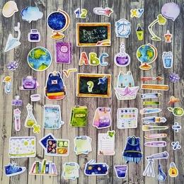 Vissza az iskolába | papír díszítőelem készlet