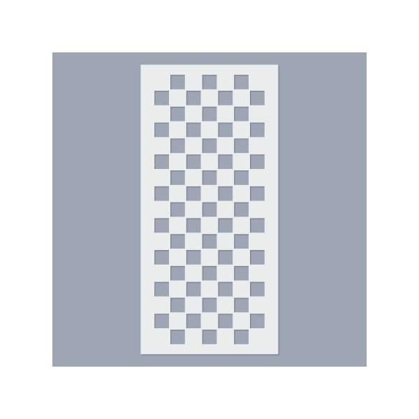 Sakktábla stencil